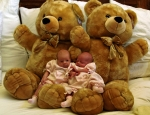 Girls with Teddy Bears