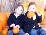 Sitting Pumpkins